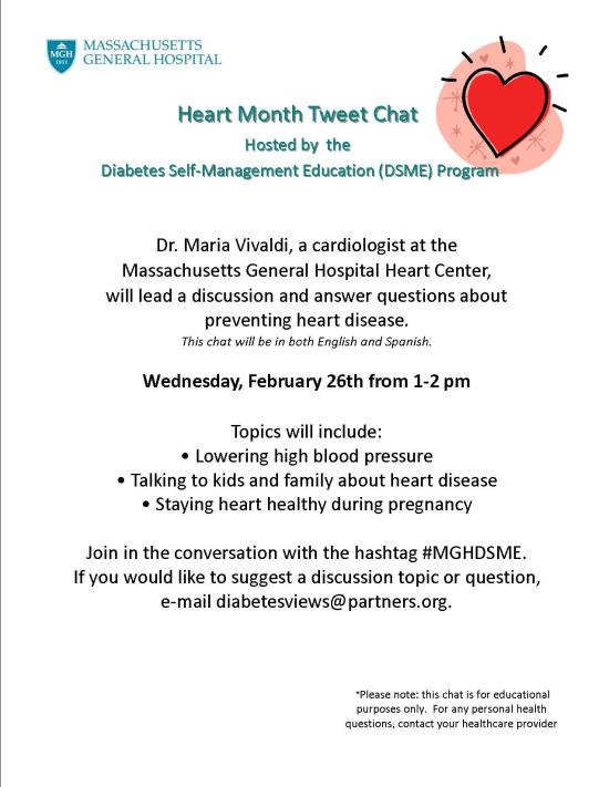 Feb Heart Health Chat